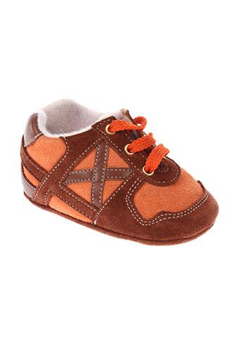 baby et chick chaussons garcon de couleur orange