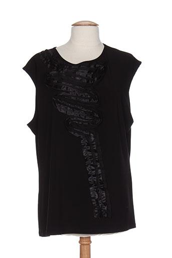 frank lyman chemises femme de couleur noir