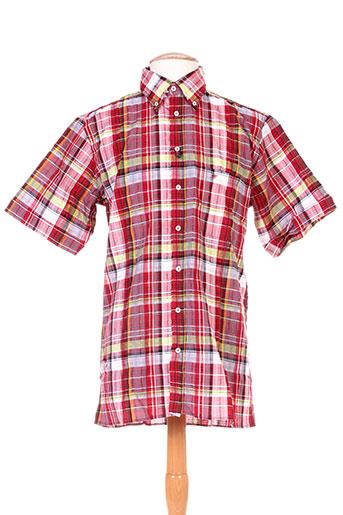 jean chatel chemises homme de couleur rouge