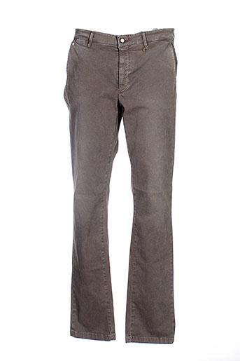 joe san pantalons homme de couleur vert