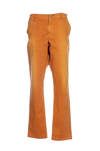 joe san pantalons homme de couleur orange