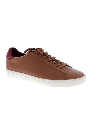 clae chaussures homme de couleur marron
