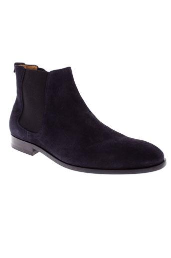 paul et smith boots homme de couleur bleu