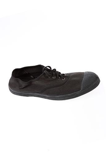 bensimon baskets homme de couleur noir