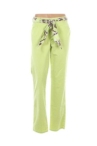 betty et barclay pantalons et decontractes femme de couleur vert