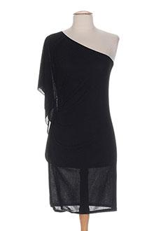 Robe mi-longue noir EGERIE pour femme