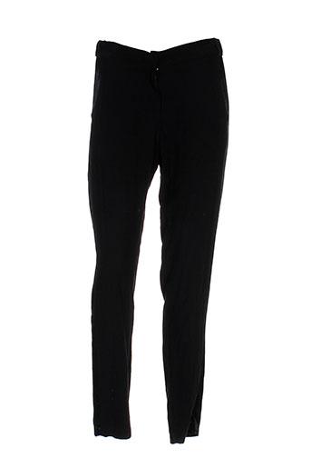 la petite francaise pantalons femme de couleur noir