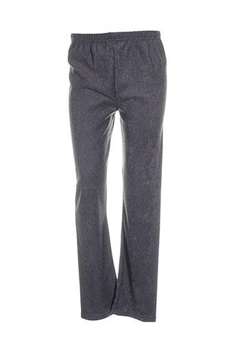 exclusivity pantalons femme de couleur gris