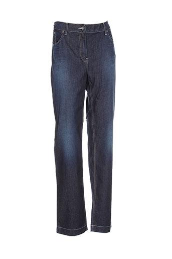 setrak jeans femme de couleur bleu
