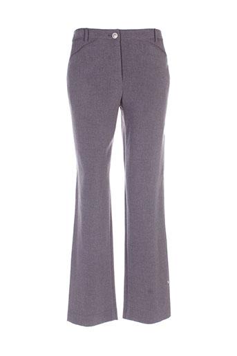perspectives pantalons femme de couleur gris