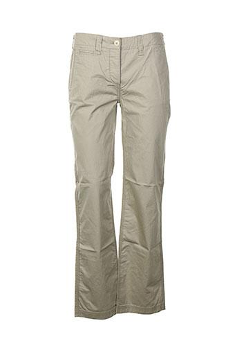 aigle pantalons homme de couleur gris