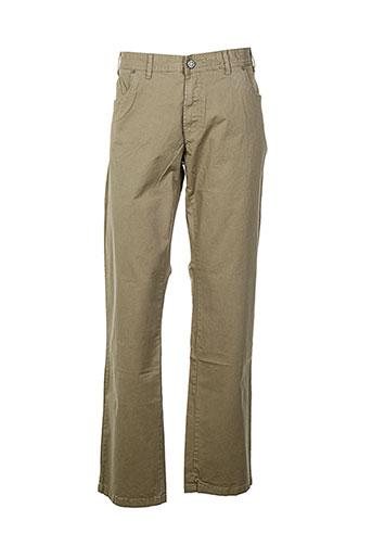 greyes pantalons homme de couleur beige