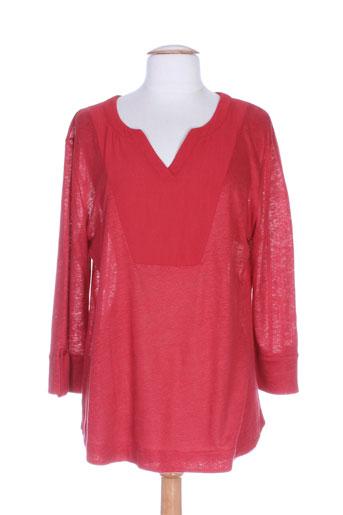 le petit baigneur t et shirts et tops femme de couleur rouge