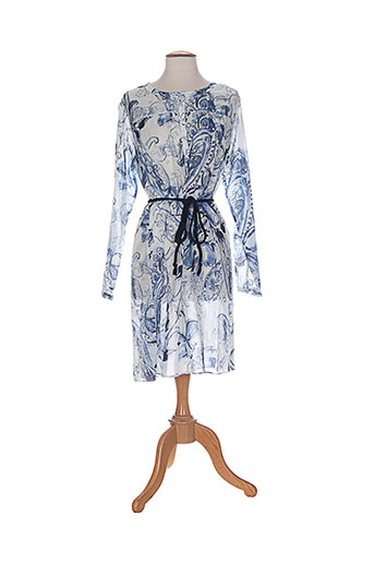 le et petit et baigneur robes et mi et longues femme de couleur bleu