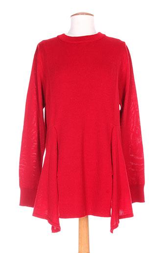 felino pull et tuniques femme de couleur rouge