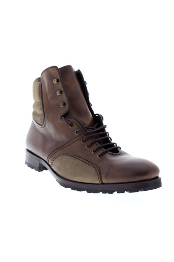 baxton bottines homme de couleur marron