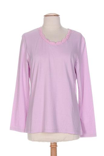 beka t-shirts femme de couleur rose