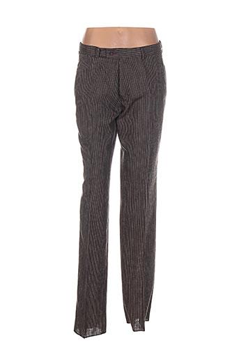 kamao pantalons homme de couleur marron