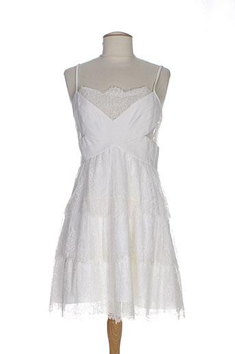 bcbgmaxazria robes femme de couleur blanc