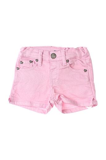 girandola shorts / bermudas fille de couleur rose