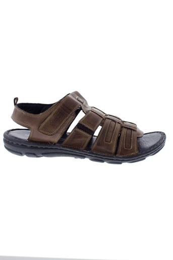 stressless chaussures homme de couleur marron