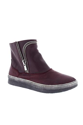 madison boots femme de couleur rouge