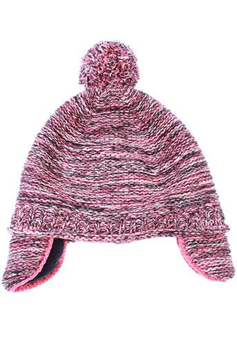 absorba chapeaux et bonnets fille de couleur rose
