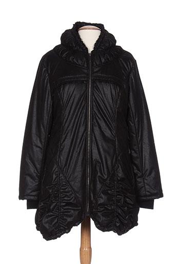 areline manteaux et longs femme de couleur noir