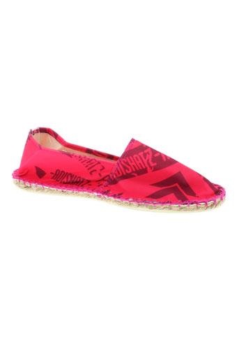 adishatz chaussures femme de couleur rose