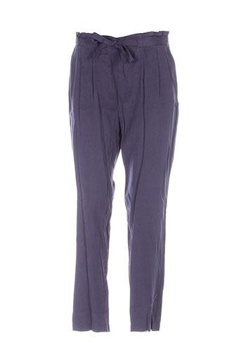 laura et jo pantalons et citadins femme de couleur bleu