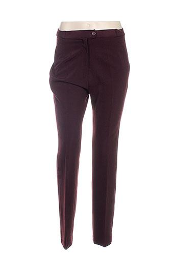 anne kelly pantalons femme de couleur marron