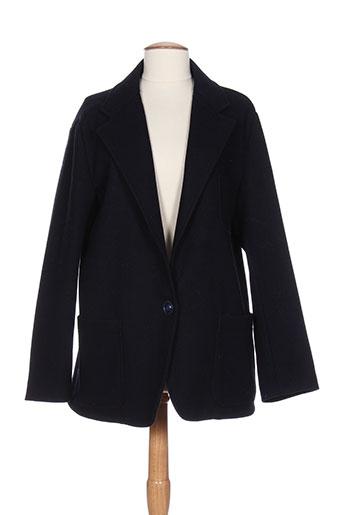 maliparmi manteaux et courts femme de couleur bleu