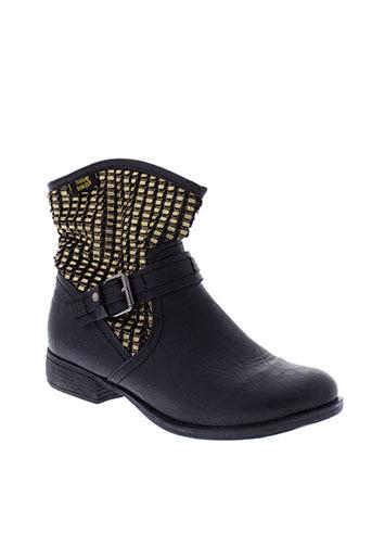molly et bracken boots femme de couleur noir