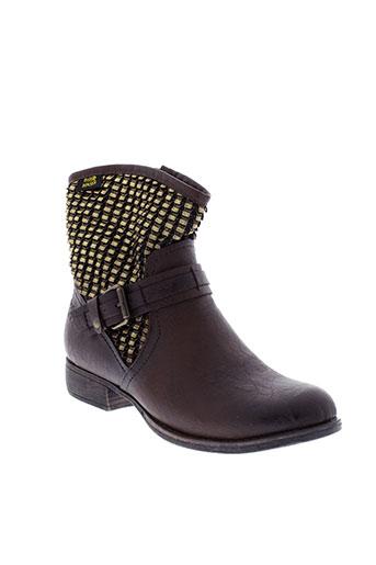 molly et bracken boots femme de couleur marron