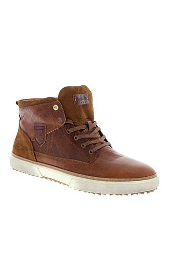 pantofola et d et oro boots homme de couleur marron