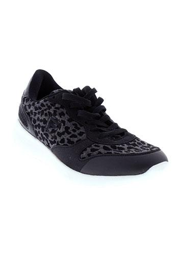 fila chaussures femme de couleur noir