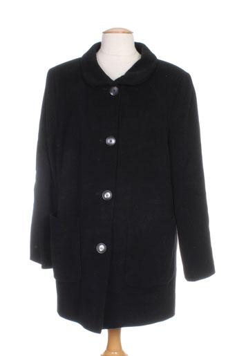 lebek manteaux et longs femme de couleur noir
