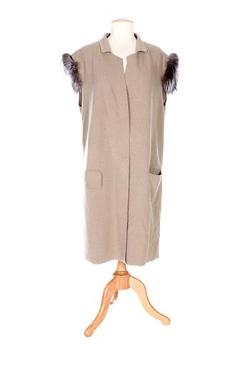 la fabrique vestes femme de couleur gris