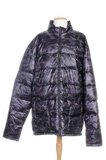 li-ning manteaux homme de couleur gris