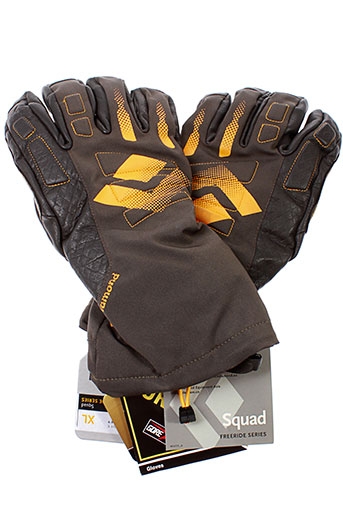 black et diamond echarpes et gants homme de couleur gris