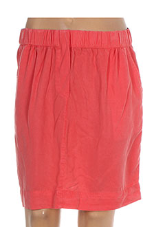 Jupe courte orange NICE THINGS pour femme