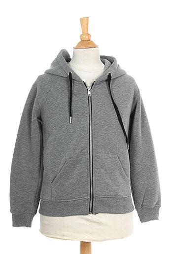 seven tees vestes garçon de couleur gris