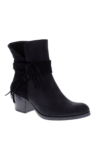 histoires et de et chaussures boots femme de couleur noir