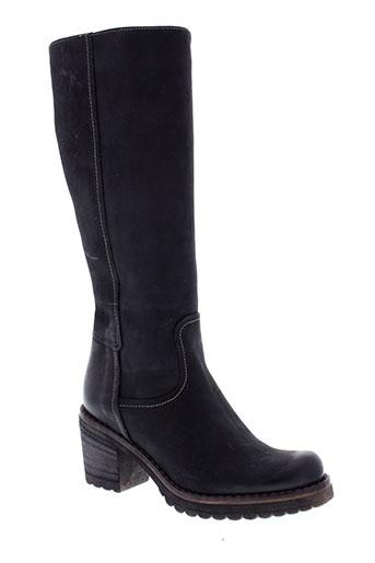 manas bottes femme de couleur noir