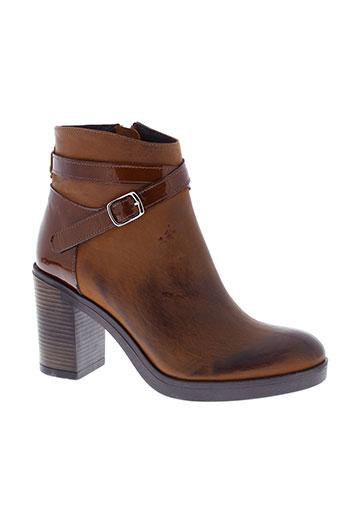 histoires et de et chaussures boots femme de couleur marron