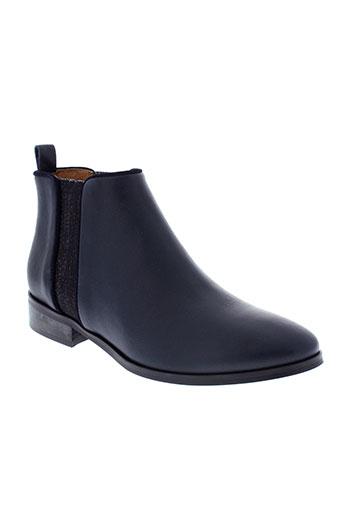 mkd boots femme de couleur bleu