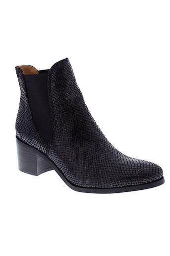 mkd boots femme de couleur noir
