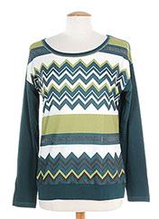 T-shirt manches longues vert KARTING pour femme seconde vue