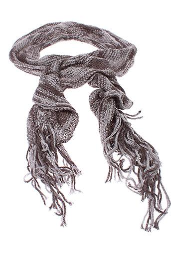 carla et giannini echarpes et gants femme de couleur gris