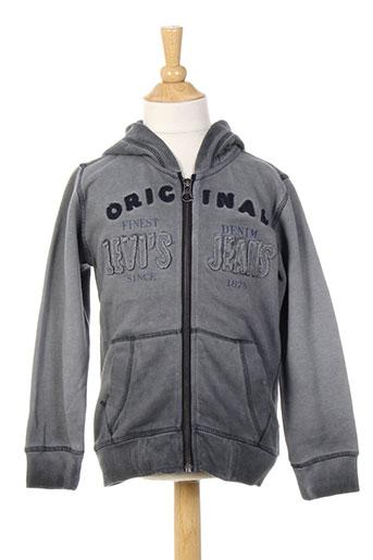 levis vestes garçon de couleur gris